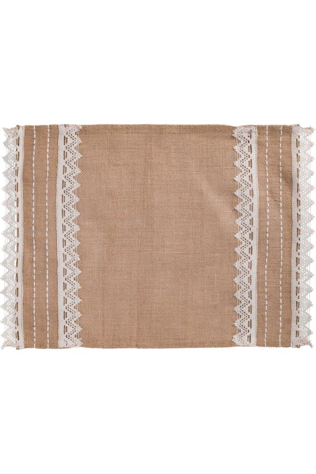 The country house collection abigail burlap placemat from for The country home collection