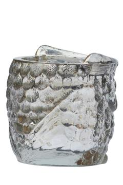 The Country House Collection Glass Owl Votive - Alternate List Image