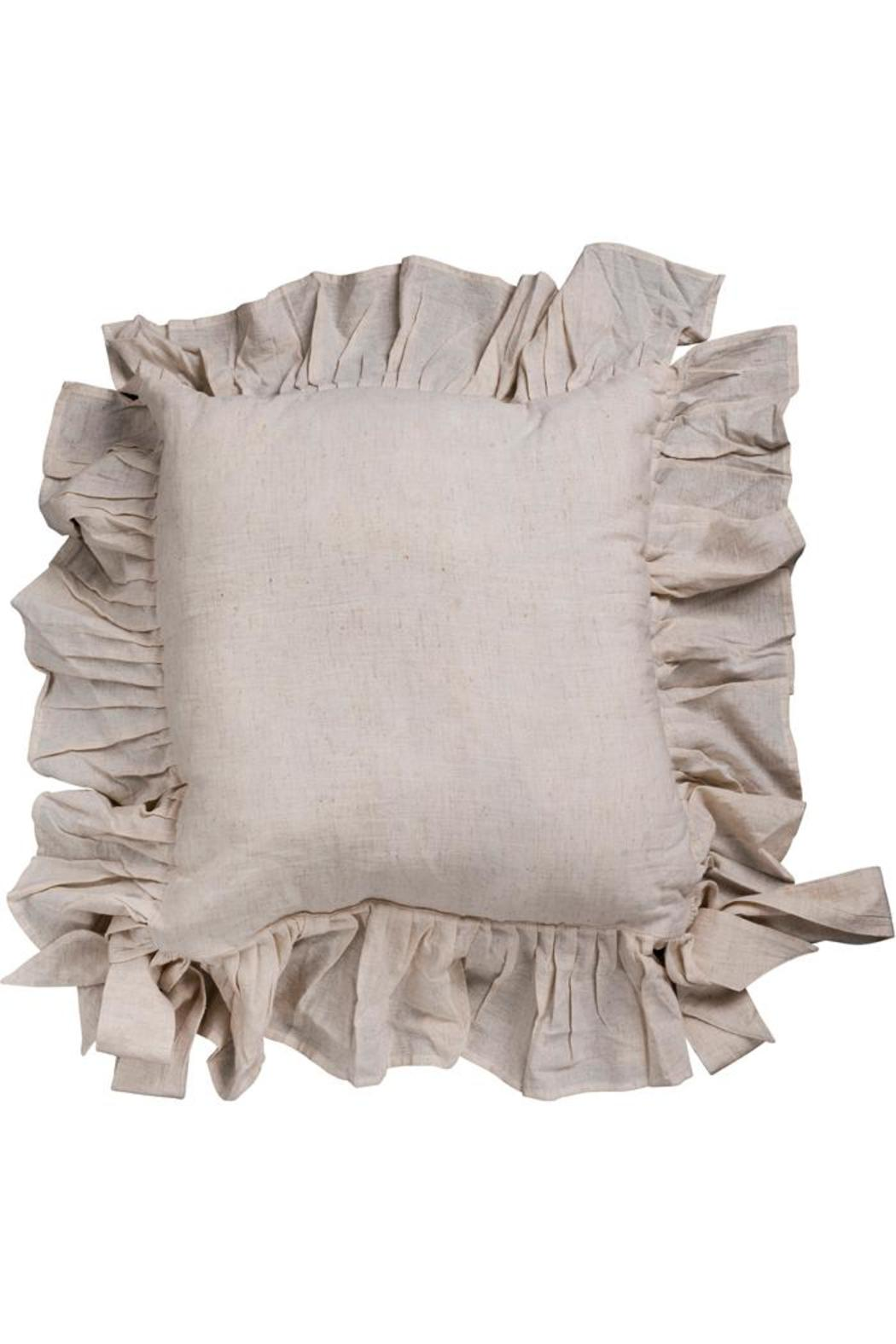 The Country House Collection Ruffle Chair Pad   Front Cropped Image