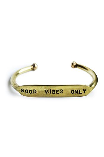 The Curated Gift Shop Good Vibes Bracelet from New York ...