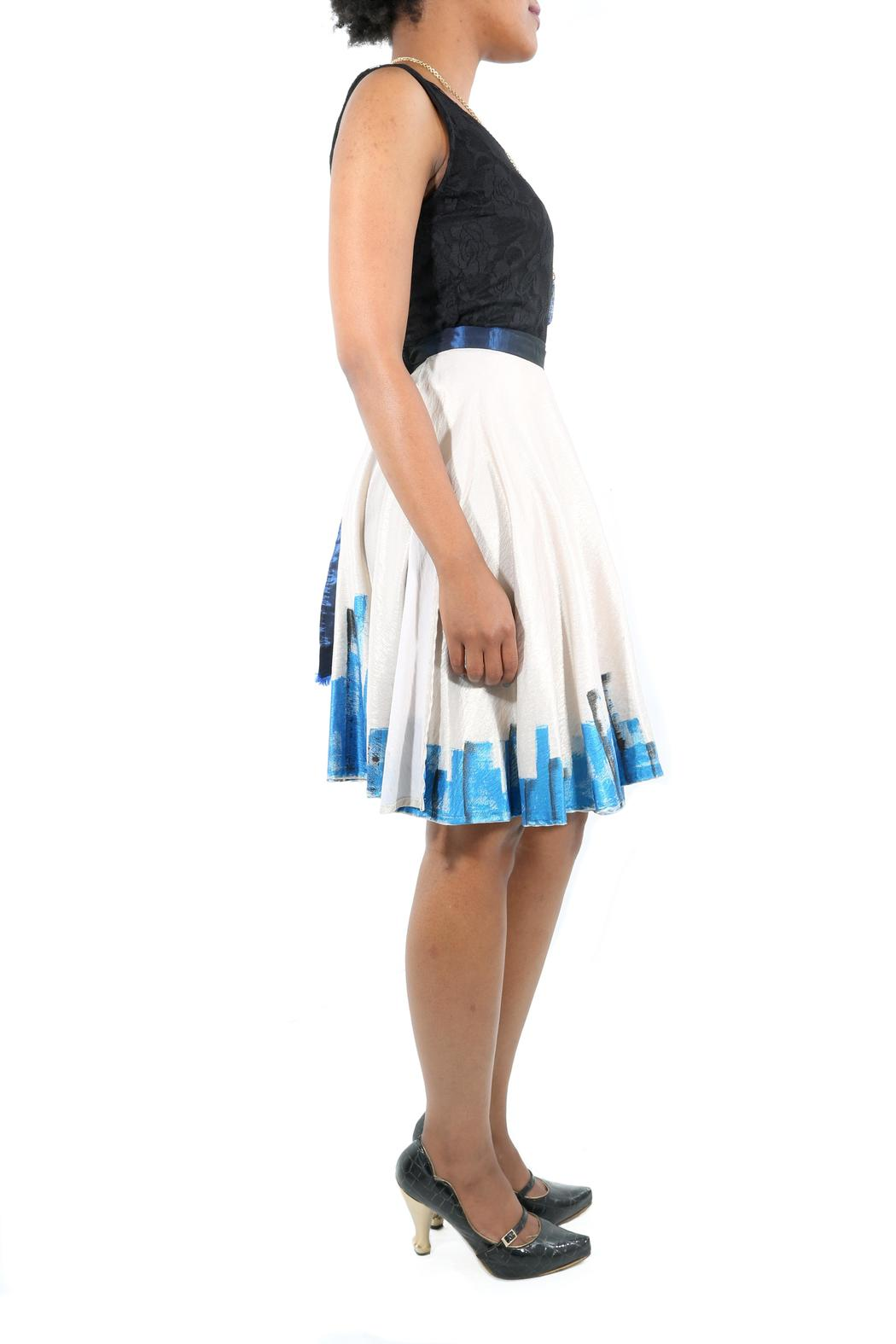 The Disco Dolls Studio Colette Wrap Skirt - Side Cropped Image