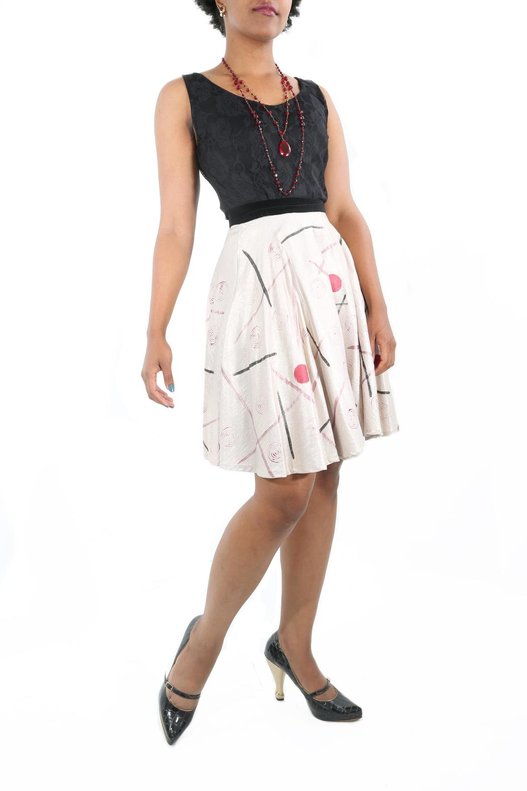 The Disco Dolls Studio Colette Wrap Skirt - Front Cropped Image