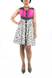 The Disco Dolls Studio Swirl Cocktail Dress - Front cropped
