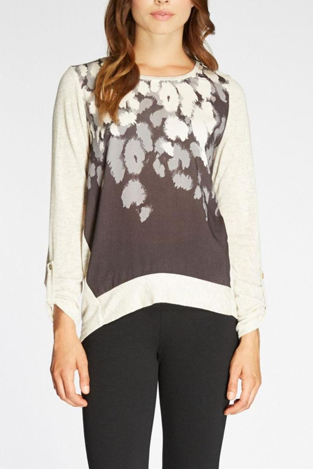 The Dressing Room Abstract Print Top - Main Image