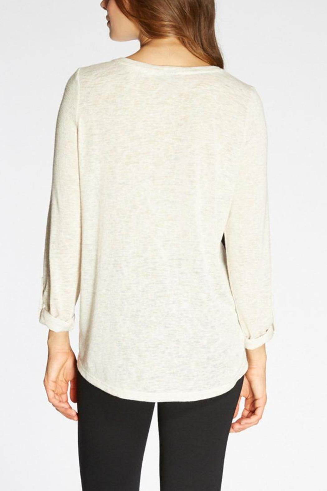 The Dressing Room Abstract Print Top - Front Full Image