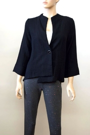 The Dressing Room Asymmetrical Black Jacket - Product Mini Image