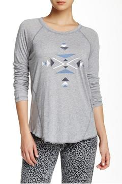 The Dressing Room Aztec Print Tee - Product List Image