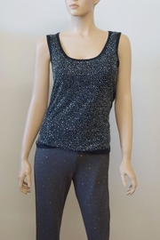 The Dressing Room Black Rhinestone Tank - Product Mini Image