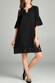 The Dressing Room Lace Trim Dress - Product Mini Image