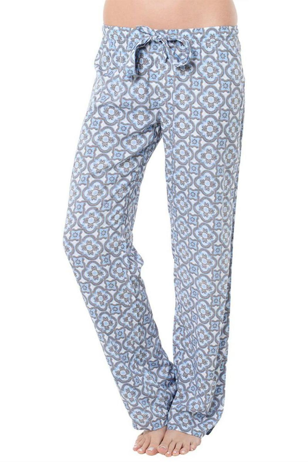 The Dressing Room Blue Medallion Bottoms - Main Image