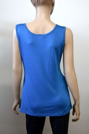 The Dressing Room Blue Rhinestone Tank - Front full body