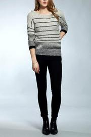 The Dressing Room Boucle Striped Pullover - Product Mini Image