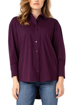 The Dressing Room Button-Down Oversized Blouse - Alternate List Image