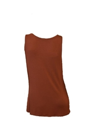 The Dressing Room Copper Sequin Tank - Front full body