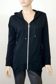 The Dressing Room Cotton Zip Hoodie - Product Mini Image