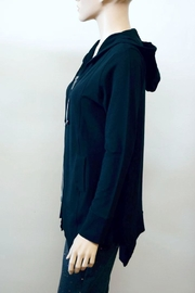 The Dressing Room Cotton Zip Hoodie - Front full body