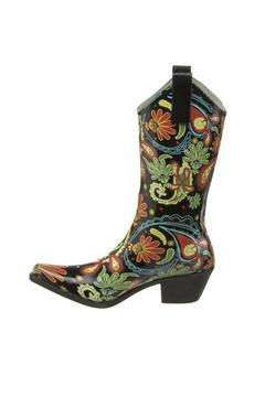 The Dressing Room Paisley Rain Boots from California — Shoptiques
