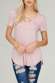 The Dressing Room Criss Cross Pink - Product Mini Image