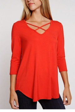 Shoptiques Product: Criss Cross Top