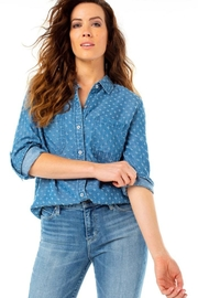The Dressing Room Denim-Look Soft Shirt - Product Mini Image