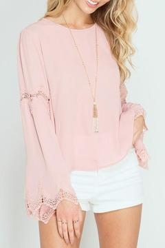 Shoptiques Product: Dusty Pink Blouse