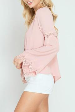 The Dressing Room Dusty Pink Blouse - Alternate List Image