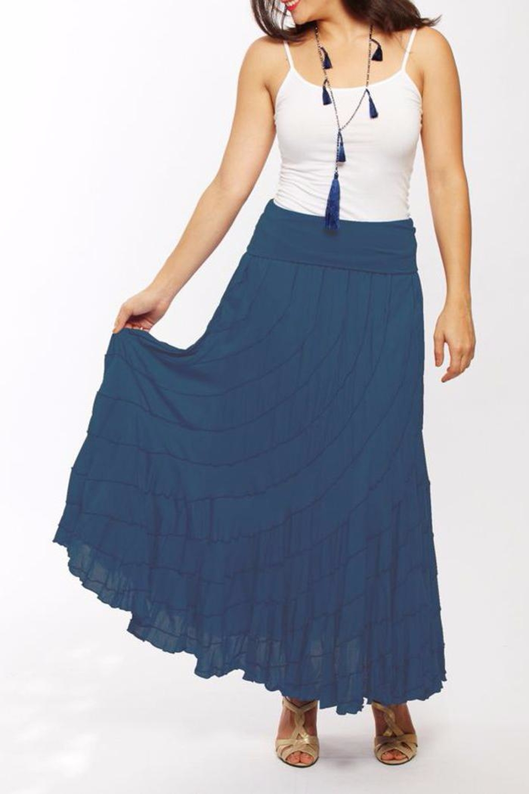 The Dressing Room Easy Flair Skirt - Front Cropped Image