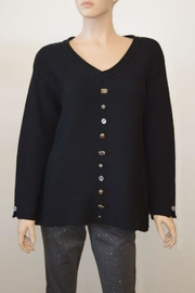 The Dressing Room Embellished Cotton Sweater - Product Mini Image