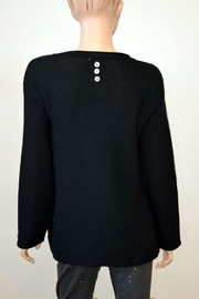 The Dressing Room Embellished Cotton Sweater - Front full body