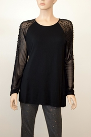 The Dressing Room Embellished Sleeve Blouse - Product Mini Image