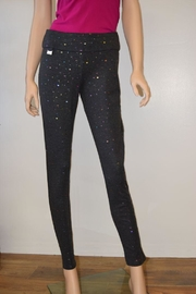 The Dressing Room Grey Confetti Pants - Front cropped