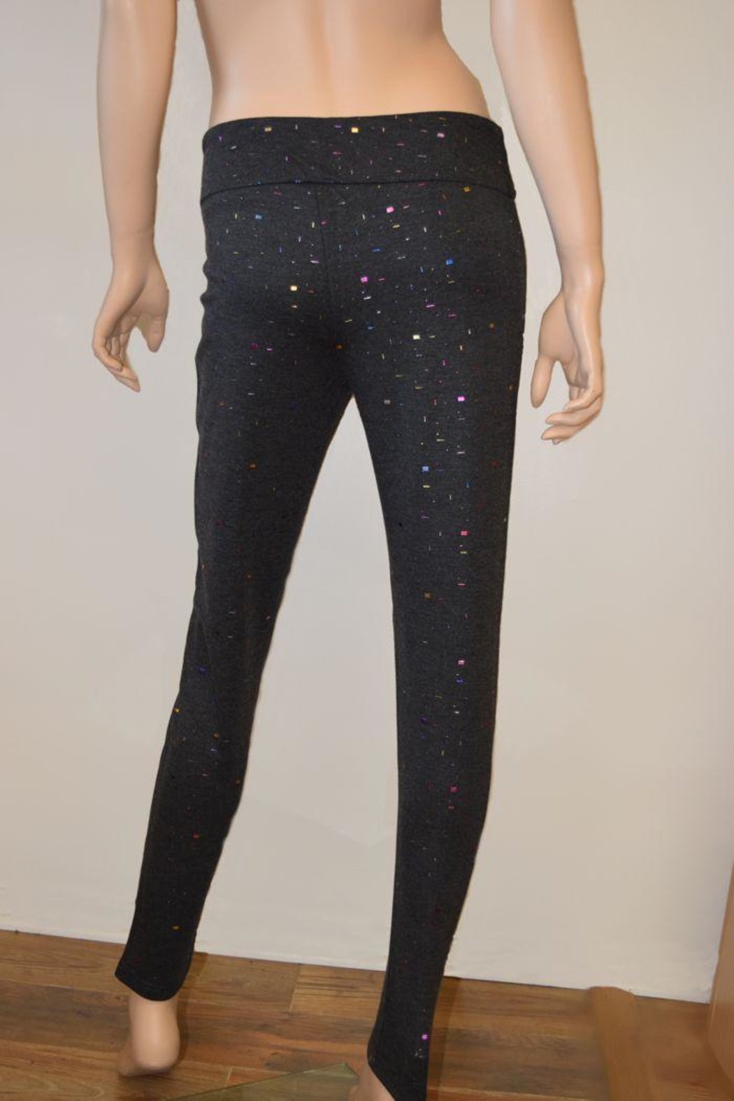 The Dressing Room Grey Confetti Pants - Front Full Image