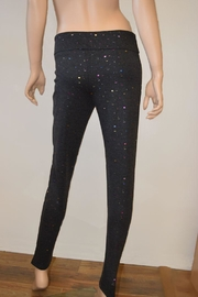 The Dressing Room Grey Confetti Pants - Front full body