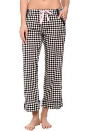 The Dressing Room Checkered Cotton Botoms - Product Mini Image