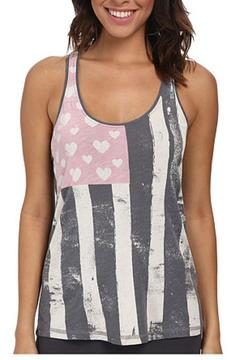 Shoptiques Product: Heart Flag Tank