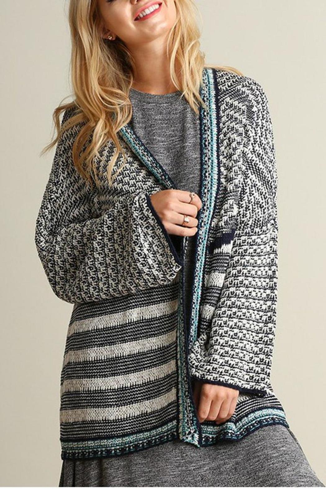 The Dressing Room Knit Open Cardigan - Main Image