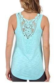 The Dressing Room Lace Back Tank - Front cropped