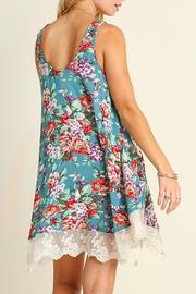 The Dressing Room Lace Floral Top - Front full body