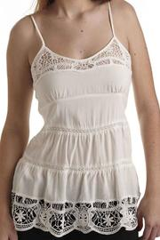 The Dressing Room Lace Trim Tank - Product Mini Image