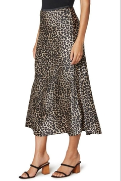 The Dressing Room Leopard-Print Skirt - Product List Image