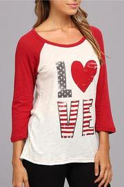 The Dressing Room Love Tee - Product Mini Image