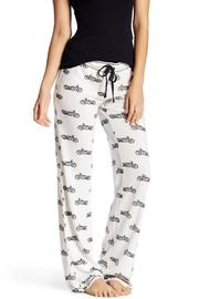 The Dressing Room Motorcycle Print Bottoms - Product Mini Image