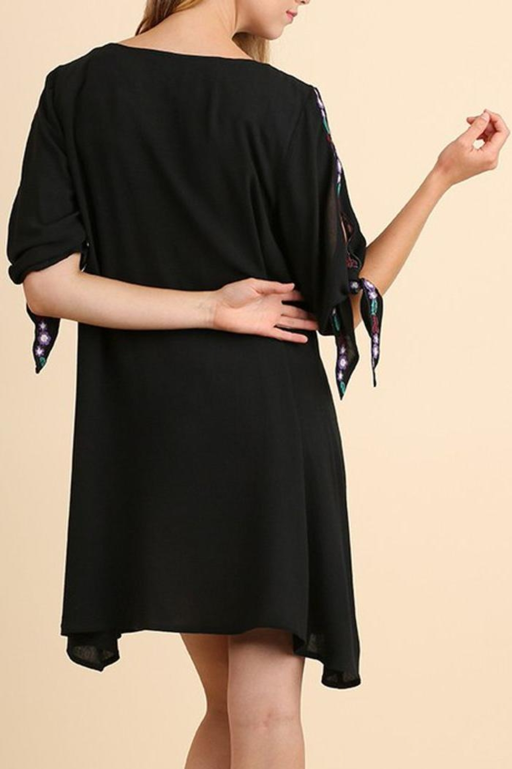 The Dressing Room Open Sleeve Dress - Side Cropped Image