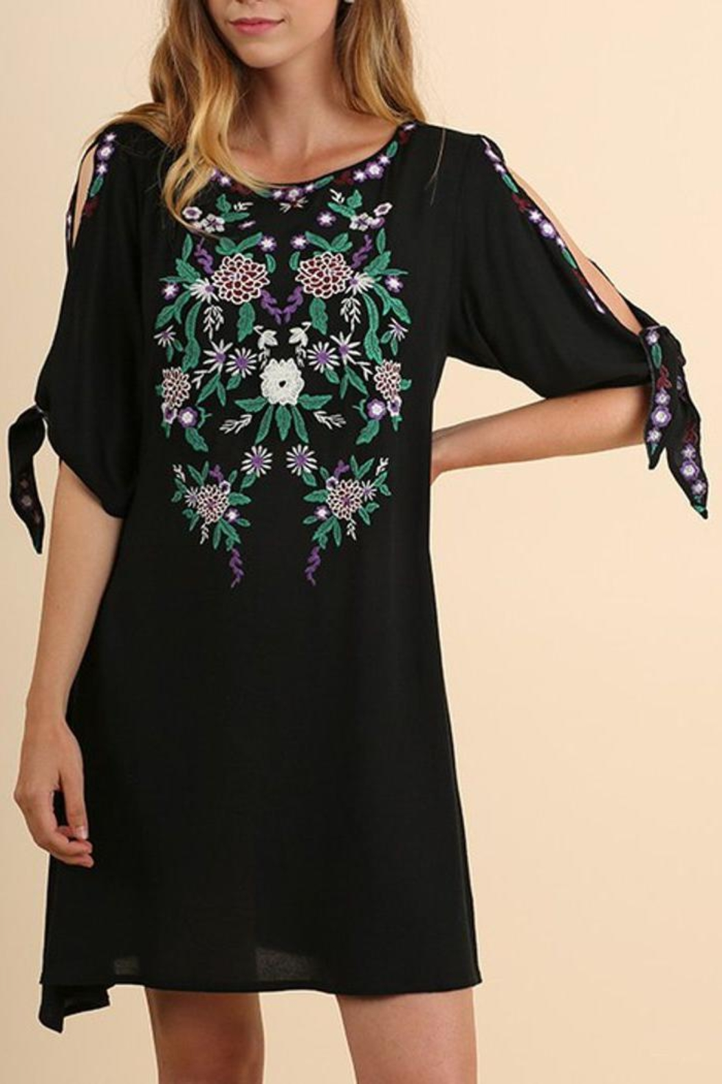 The Dressing Room Open Sleeve Dress - Main Image