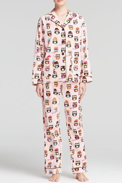 The Dressing Room Owl Print Flannel - Product List Image