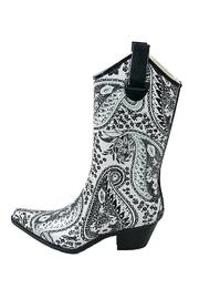The Dressing Room Paisley Rain Boots - Product Mini Image