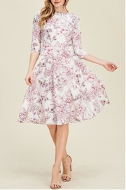 The Dressing Room Pink Floral Dress - Product Mini Image