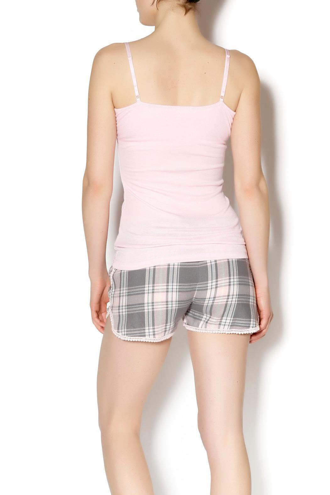 The Dressing Room Pink Heart Tank - Front Full Image