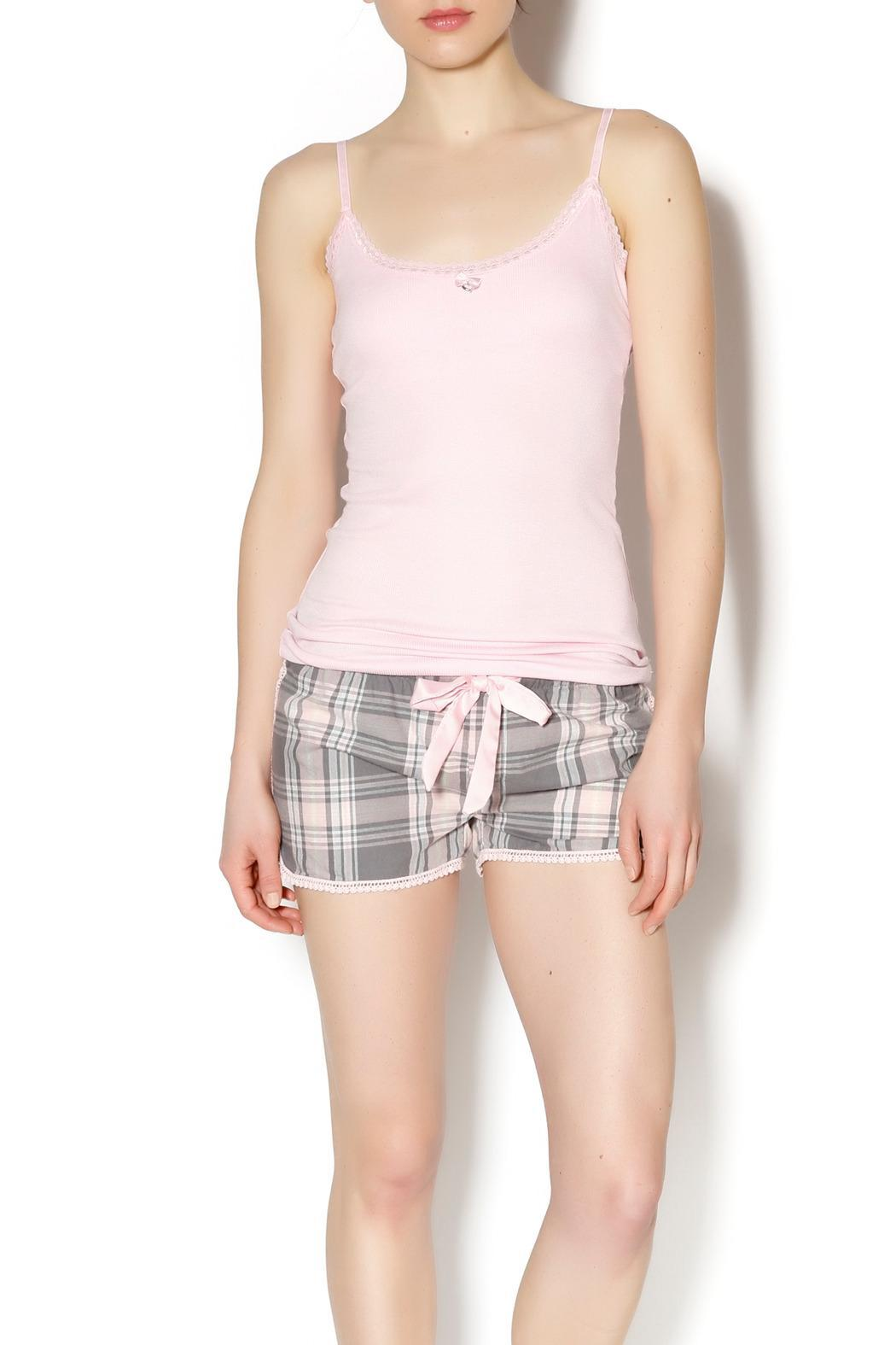 The Dressing Room Pink Heart Tank - Main Image
