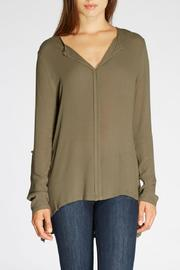 The Dressing Room Pleated Back Blouse - Product Mini Image